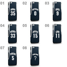 Customized Oklahoma City OKC Navy Blue Swingman Alternate Jersey Case Cover
