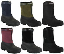 Womens Mucker Stable Yard Winter Country Snow Zip Boots Wellies Sizes 4 to 8