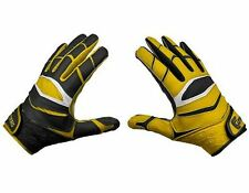 Cutters X40 C-TACK Revolution Yin Yang Football Gloves - $45 Gold/Black New NWT