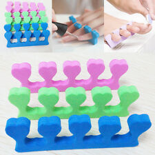 Sweet 10pcs Nail Art Salon Soft Finger Toe Separator Manicure Pedicure Tool Gift