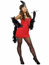 Adult Red Flapper Sexy Costume