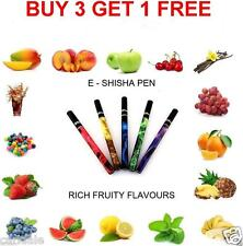 E SHISHA PEN  HOOKAH ELECTRONIC STICKS VAPOR SMOKE DISPOSABLE ESHISA