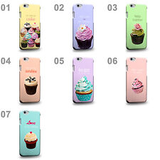 CASE88 Art Collections Hand Drawing Cupcake Assorted Design Etui Housse Coque