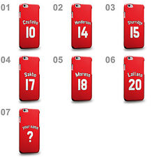Customized English league Soccer Team Home Jersey B Hard Phone Case Cover