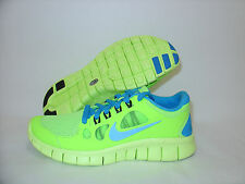 New Boys Girls Nike Free 5.0 GS Running Shoes Size 6Y