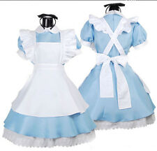 Sexy Halloween Alice In wonderland Cosplay Costume Women French Maid Fancy Dress