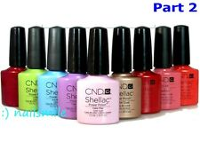 CND Shellac Gel Polish Color / Base / Top Coat *Series 2 / Choose Any