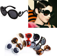 Hot Retro Inspired Womens Butterfly Clouds Arms Semi Tranparent Round Sunglasses