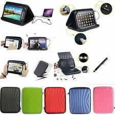 "Colorful Speaker PU Leather Case Cover+Pen For 8"" Polaroid S8 A8 Android Tablet"