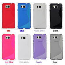 For Samsung Galaxy Alpha Alfa G850F G850A Gel Silicone TPU Case+Screen Protector