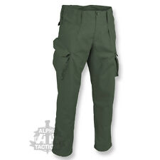 BRITISH ARMY PCS STYLE RIPSTOP TROUSERS COMBAT ISSUE CAMO AIRSOFT OLIVE GREEN