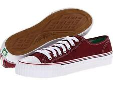PF-FLYERS PM130L3H CENTER LO Men/Women Unisex Retro Burgundy Casual Street Shoes