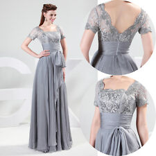 XMAS GIFT FOR WOMEN Vintage Lace Long Evening Bridesmaid Prom Club Party Dresses