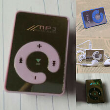 Mirror Mini Clip MP3 Player Support 1-8GB Micro SD TF Memory Cards Free Ship