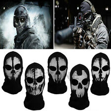 Call of Duty 5 Ghost Balaclava Motorcycle Cycling Game Airsoft Full Face Mask