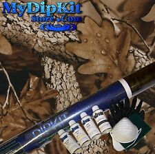 MyDipKit Hydrographics My Dip Kit Water Transfer Printing Brown Leaves Camo