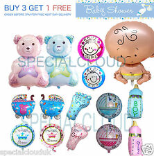 LARGE BABY FOIL HELIUM BALLOON BABY SHOWER CHRISTENING BIRTHDAY PARTY BOY GIRL