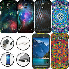 DESIGN / IMAGE PLASTIC COVER SNAP ON CASE SAMSUNG GALAXY S5 ACTIVE + ACCESSORY