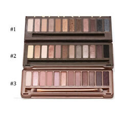 New Nake 3th/2th 12 Colors Eye Shadow Palette Eyeshadow Makeup Brush Nude Noble