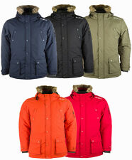 New Men's Gio-Goi Artisan Parka Padded Jacket Winter Coat - RRP £120