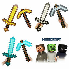 Minecraft Sword and Pick Axe Combo Set Special Price,UK SELLER,24HR DISPATCH