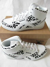 reebok royal flag classic hazelboro mid womens hi top trainers M41497 sneakers