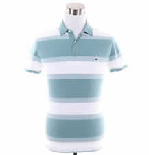 Tommy Hilfiger Men Short Sleeve Stripe Rugby Polo Shirt - New York Fit - $0 Ship