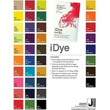 Jacquard iDye Fabric Dye 14 Grams Cotton Nylon Rayon Wool - COLORS