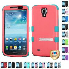 For Samsung Galaxy Mega 6.3 i527 Hard Soft Silicone Hybrid Design Case Cover