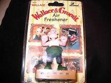 WALLACE & GROMIT AIR FRESHENER SHAUN THE SHEEP WRONG TROUSERS NEW AARDMAN RARE