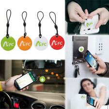 4x/1x NFC Tag Waterproof Keychain Android Smart Label For Samsung Xperia LG HTC