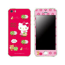 Skin Decal Sticker iPhone Galaxy Universal Mobile Phone Apple Tree Hello Kitty