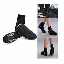 Outdoor Bicycle Windproof Shoe Covers Bike Cycling Zippered Overshoes Sportwear