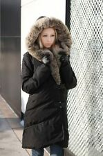Hot Fashion Luxurious Style Womens Duck Down Coat Winter Warm Long Jacket