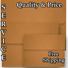 Grocery Bag Brown 70lb Envelopes for Wedding Response Invitation Announcement
