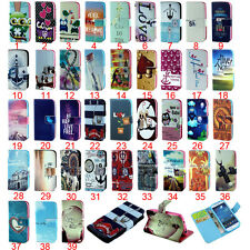 NEW FASHION LOVELY WALLET STAND SOFT BACK PU LEATHER COVER CUTE CASE FOR SAMSUNG