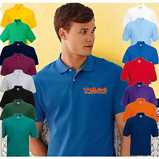 5 Pack of Personalised FOTL 63402 Embroidered Polo Work Wear Shirts, No Fee !