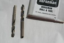 1/16  THRU 1/2  NORSEMAN 190-AL  LEFT HAND JOBBER  LENGTH DOMESTIC DRILL BITS