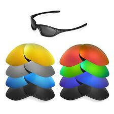 Walleva Replacement Lenses 4 Oakley XX (Twenty XX) Sunglasses - Multiple Options