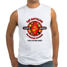 "1ST BATTALION / 8TH MARINES "" CUTTING EDGE ""  SLEEVELESS / TANK TOP SHIRT"