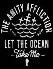 THE AMITY AFFLICTION LET THE OCEAN TAKE ME cool bw sails photo glossy t-shirt