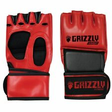 """Grizzly Fitness """"The Hammer"""" MMA Grappling Training Gloves - PADDED, DURABLE"""