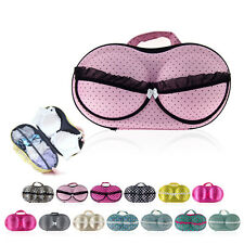 Portable Women Lady Bra Protect Underwear Lingerie Travel Storage Bag Box Case