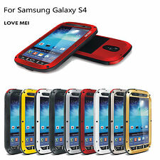 LOVE MEI Aluminum Metal Waterproof Protective Case for Samsung Galaxy S3 S4 S5