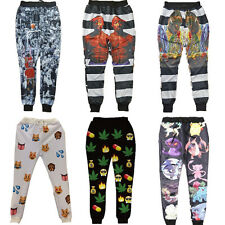 2015 Cool Black Mens joggers 3D The Last Shot basketball star sport Womens pants