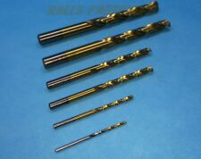 HSS Drill Bits TiN Coated from 0.5 to 3.5 mm General Purpose Self Centering
