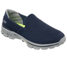 53980 NAVY SKECHERS SHOE GO WALK 3 MEN NEW MESH SLIPON WALK SPORT GOGA MAT LIGHT
