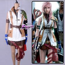 Hot Sale Clothes  Party Uniform Cosplay Costume For Final Fantasy XIII Lightning