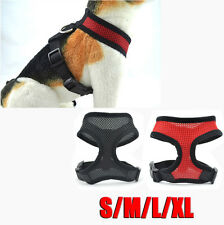 Soft Mesh Padded Pet Dog Cat Harness Safety Strap Vest