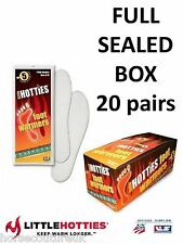 20 PAIRS - LITTLE HOTTIES FOOT WARMERS  Winter Feet Sock Boots Snow Ski Thermal